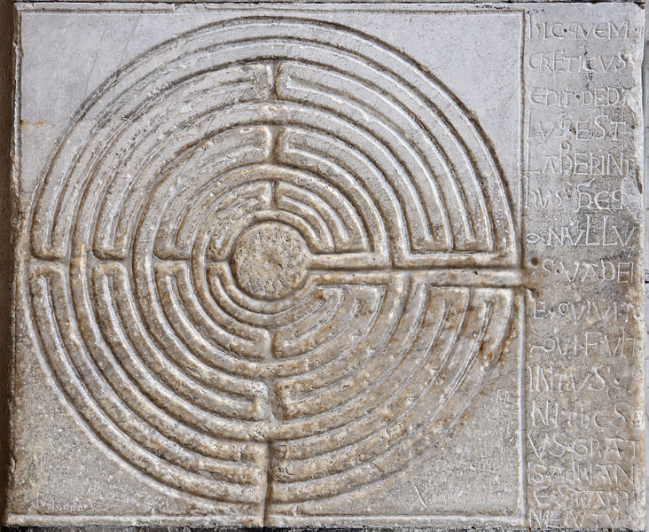 File:Duomo Lucca cathedrale Lucques labyrinthe.jpg