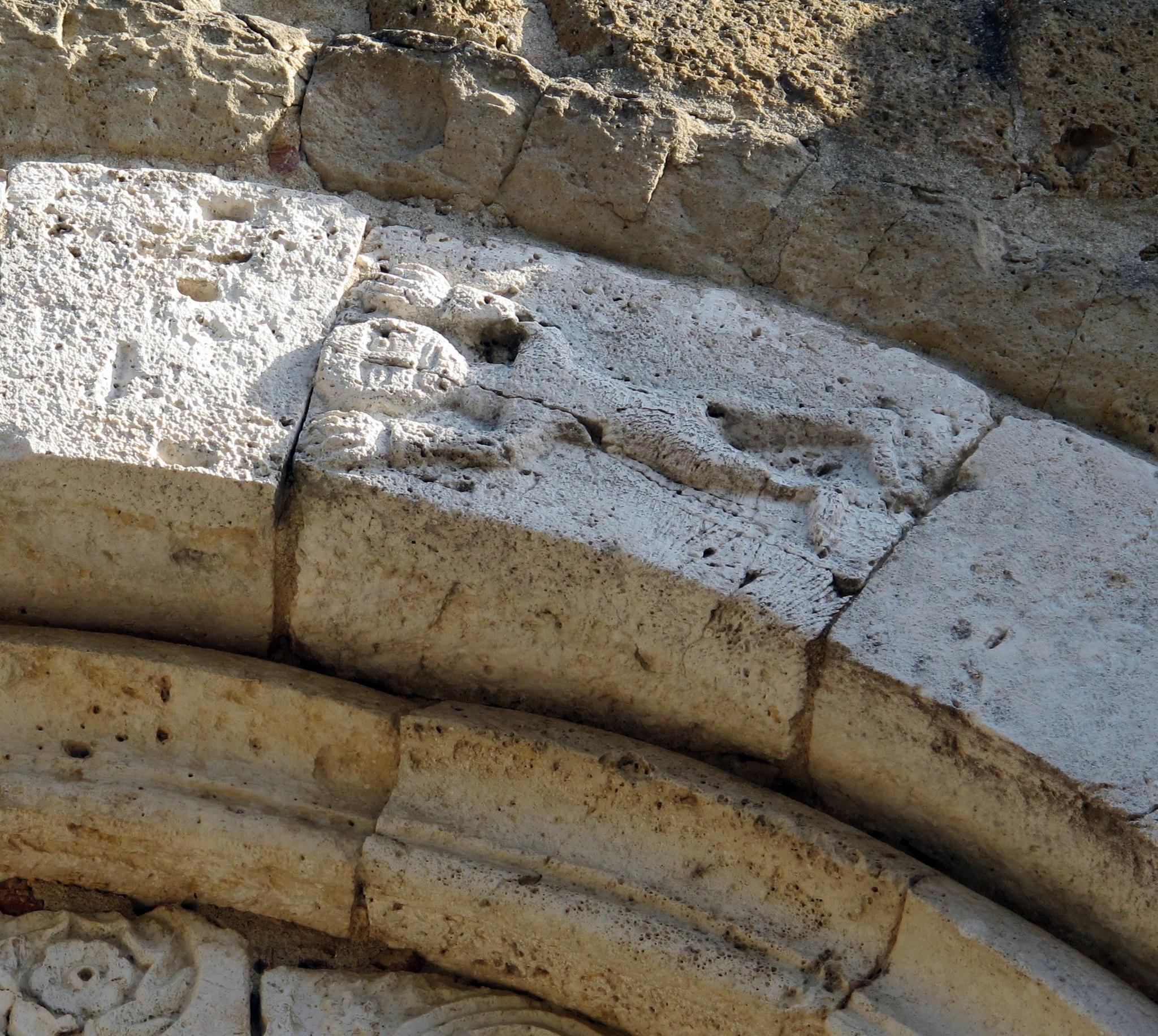 Duomo di sovana, ext., portale 04