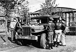 Duxford Aerodrome - 78th Fighter Group - Personnel with Truck.jpg