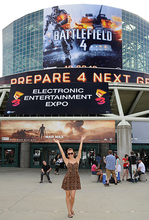 Electronic Entertainment Expo 2013 - E3 Expo 2013 at the Los Angeles Convention Center showing the South Hall Entrance