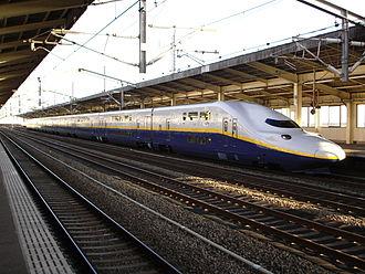 Tanigawa (train) - Image: E4in Kumagaya St 1