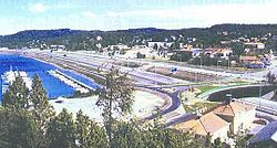 Ljungskile in summer of 1995
