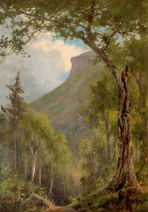 Edward Hill (painter) - Edward Hill (1843-1923) Old Man of the Mountain