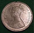 ENGLAND, WOLVERHAMPTON 1866 QUEEN VICTORIA STATUE DEDICATION MEDALLION TO PRINCE CONSORT b - Flickr - woody1778a.jpg