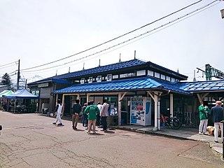 Nihongi Station Railway station in Jōetsu, Niigata Prefecture, Japan