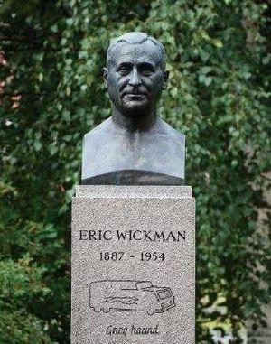 Eric Wickman - Eric Wickman statue