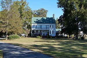 National Register of Historic Places listings in Jones County, North Carolina - Image: Eagle Nest Farm