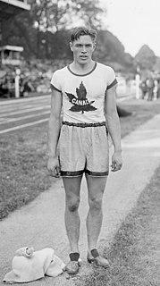 Earl Thomson Canadian athlete