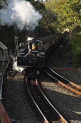 Earl of Merioneth at Tan-y-Bwlch railway station (8331).jpg