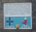 Earl of Rosebery fountain plaque - geograph.org.uk - 253296.jpg