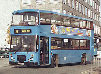 Dennis Dominator - Citybus East Lancs bodied Dominator in Liverpool in March 2002