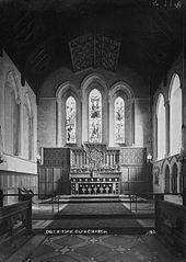 East window Clun church