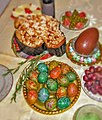 Easter table in Italian Bulgarian mixed style 2015 (1).jpg
