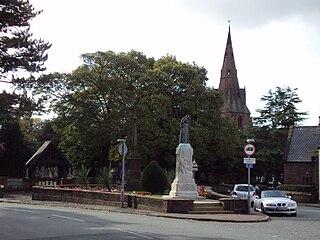 Eastham, Merseyside Village in England