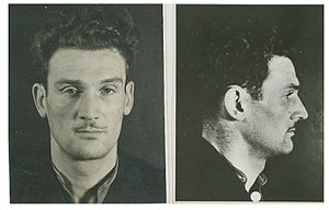Eddie Chapman - Chapman filed by MI5 on his arrival back from Germany.