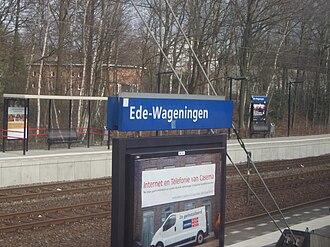 Ede, Netherlands - Ede-Wageningen railway station