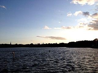 Edgbaston Reservoir Reservoir in the West Midlands, England
