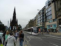Edinburgh tram, 24 June 2014 (3).jpg