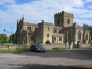 Edington Priory - Image: Edington priory church
