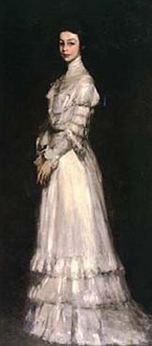 Edith Dimock - Robert Henri, Portrait of Edith Dimock Glackens, ca. 1902-1904, Sheldon Museum of Art