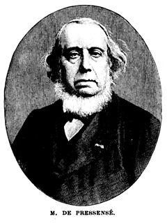 Edmond de Pressensé French Protestant religious leader
