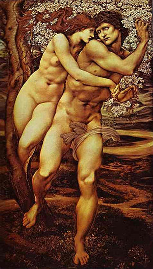 English: Edward Burne-Jones: Tree of forgiveness