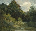 Edward Mitchell Bannister - Landscape (trees) - 1983.95.65 - Smithsonian American Art Museum.jpg