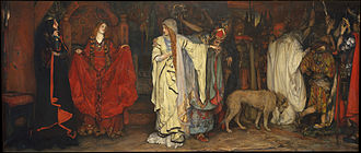 1898 in art - Image: Edwin Austin Abbey King Lear, Act I, Scene I The Metropolitan Museum of Art