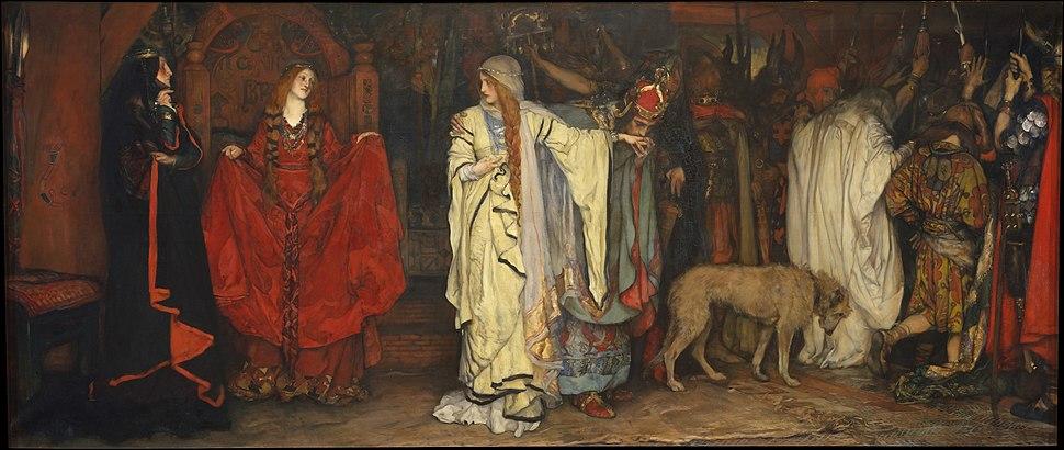 Edwin Austin Abbey King Lear, Act I, Scene I The Metropolitan Museum of Art