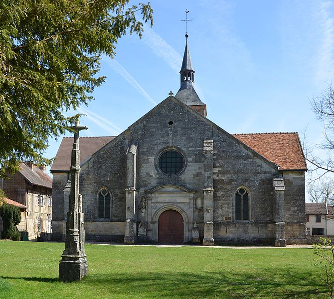 Church of Ceffonds, Haute-Marne, Champagne, France