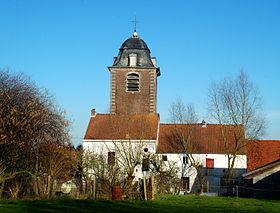 Église Saint-Hubert de Baisy-Thy — Wikipédia