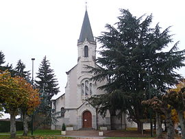 The church in Bagneux