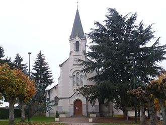 Bagneux, Indre - The church in Bagneux