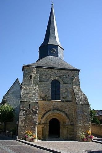 Ballan-Miré - The church in Ballan-Miré