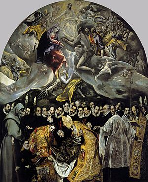 El Greco - The Burial of the Count of Orgaz - ...