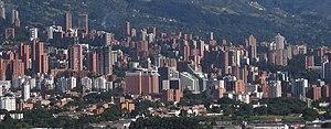 El Poblado, sector con los edificios residenciales más altos de la ciudad.