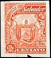 El Salvador 1895 1c Seebeck essay orange.jpg