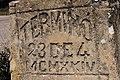 El muro, «Terminó el 23 del 4 de MCMXXIV (año 1924)» - panoramio.jpg
