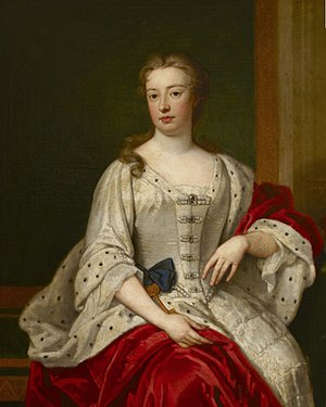 Elizabeth Seymour, Duchess of Somerset - Lady Elizabeth Percy (Duchess of Somerset), painted in 1713 by Godfrey Kneller (1646/9-1723); collection of Petworth House