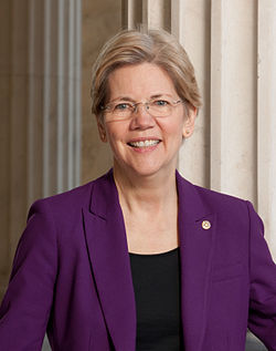 Official portrait of Elizabeth Warren. Image: United States Senate.