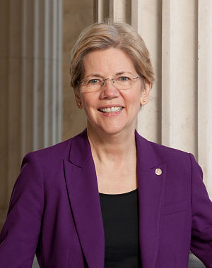 United States congressional delegations from Massachusetts - Senator Elizabeth Warren (D)