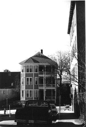 Ellen M. Smith Three-Decker - c. 1981 photo
