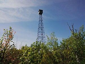 Ishpatina Ridge - Ellis Fire Tower, 2015