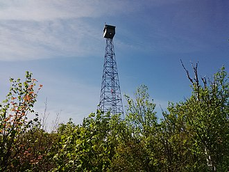 Ishpatina Ridge - Ellis Fire Tower, 2015