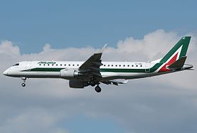 Embraer 190-100LR Alitalia Cityliner