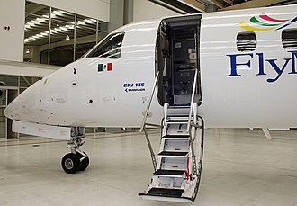 FlyMex - A FlyMex Embraer ERJ-135LR (XA-AMM) at Toluca International Airport.