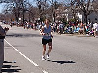 Emily Levan Heartbreak Hill Boston Marathon 050418 dodged