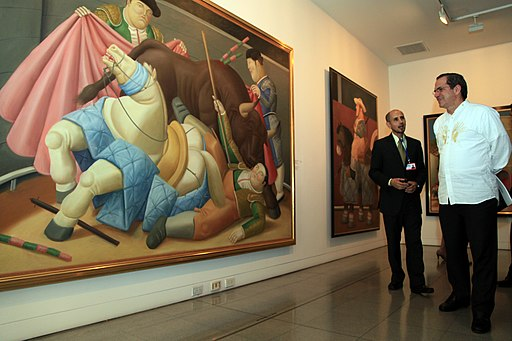 Museo de Antioquia Botero painting