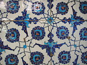 İznik tiles decorate the interior