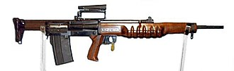 Bullpup - EM-2, an experimental British assault rifle of the 1950s.